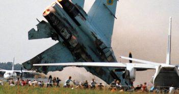 Katastrofa na pokazach lotniczych na lotnisku Skniłów (2002)