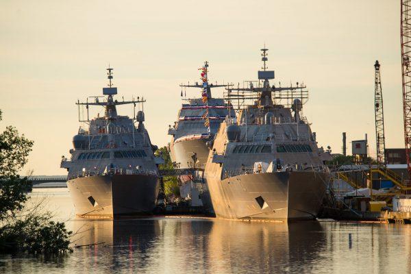 USS Billings (LCS-15), USS Little Rock (LCS-9) i USS Wichita (LCS-13)