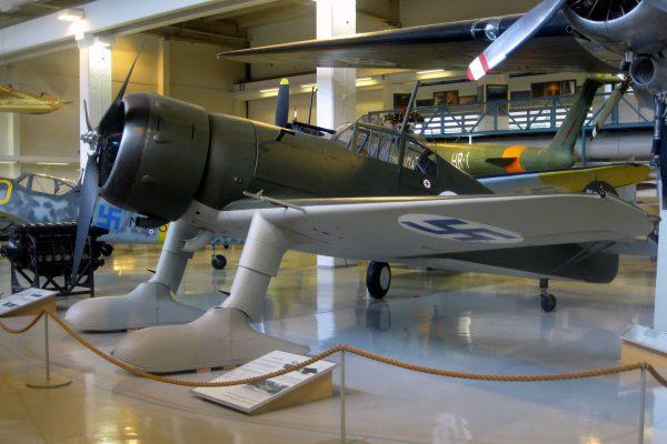 Fiński Fokker D.XXI współcześnie (fot. Jukka Kolppanen)