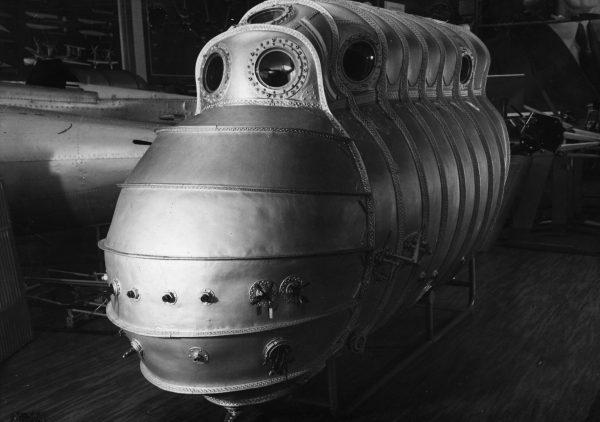 Kabina ciśnieniowa Junkersa Ju 49
