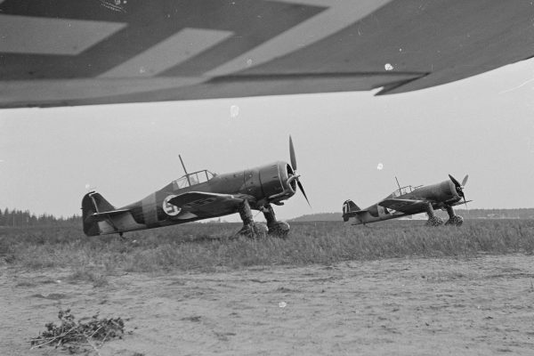 Fińskie Fokkery D.XXI