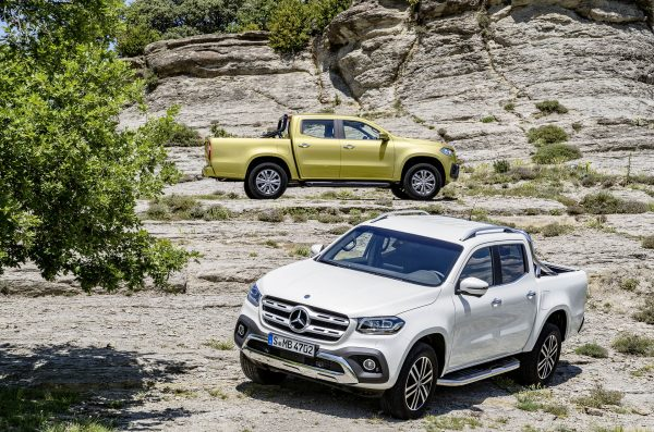 Mercedes-Benz X-Class Power i Progressive (fot. Daimler AG)