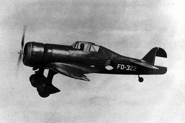 Holenderski Fokker D.XXI