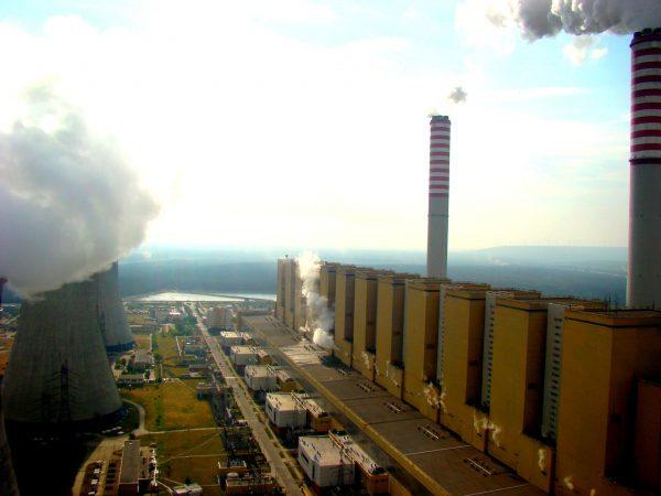Elektrownia Bełchatów (fot. Damian Krzymiński)