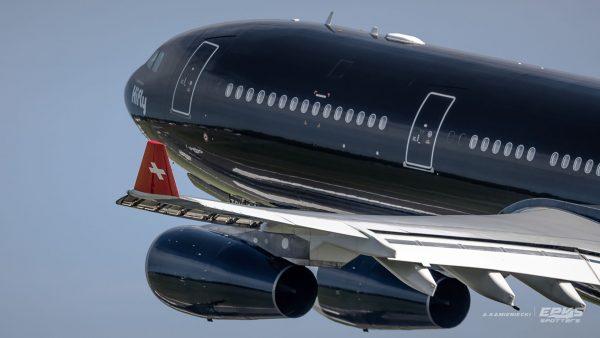 A340 Hi Fly Malta w Poznaniu - 29.07.2017 r. (fot. Arkadiusz Kamieniecki/EPKS Spotters)