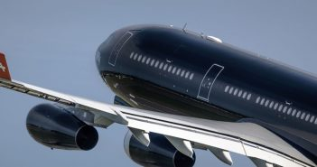 Airbus A340 Hi Fly Malta w Poznaniu