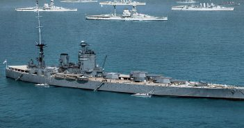 Jedyne w swoim rodzaju brytyjskie pancerniki typu Nelson