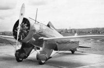 Amerykański myśliwiec Boeing P-26 Peashooter