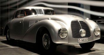 Zapomniany 1938 Mercedes-Benz 540 K Streamliner