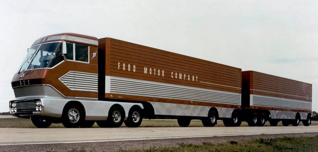 Ford Big Red - pokazowa ciężarówka z turbiną gazową