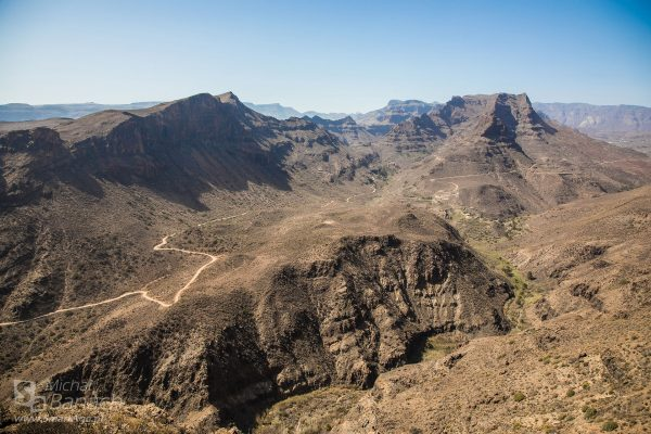 Punkt widokowy Degollada de La Yegua (fot. Michał Banach)