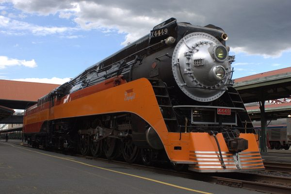 Southern Pacific class GS-4 4449 (fot. Sam Churchill)