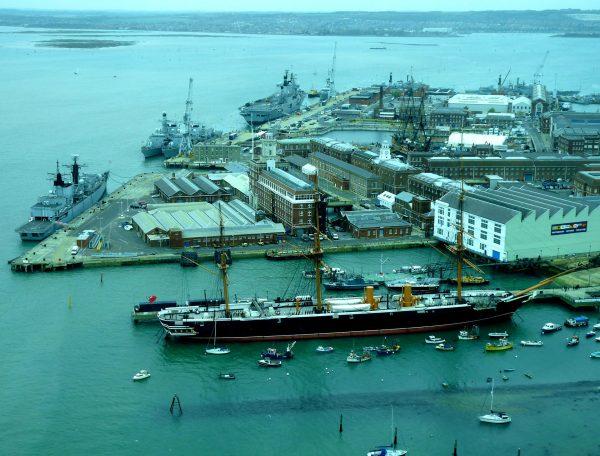 HMS Warrior (fot. pxhere.com)