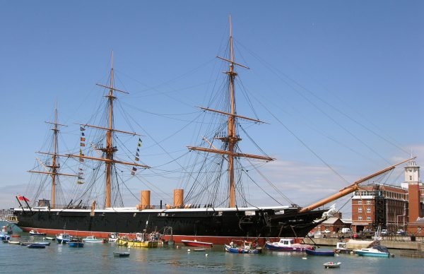 HMS Warrior (fot. geni/Wikimedia Commons)