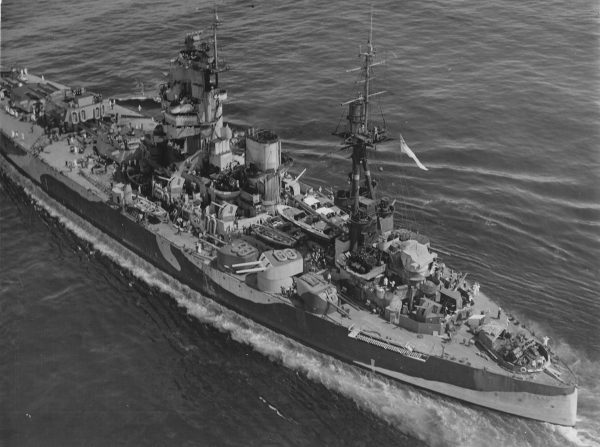 HMS Nelson w 1944 roku