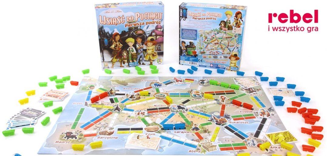 Gry planszowe dla dzieci i dla dorosłych - jak spędzić resztę wakacji?