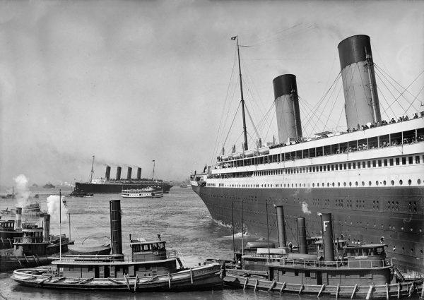 RMS Mauretania i RMS Olympic