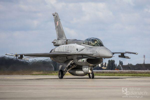 F-16 Jastrząb (fot. Michał Banach)