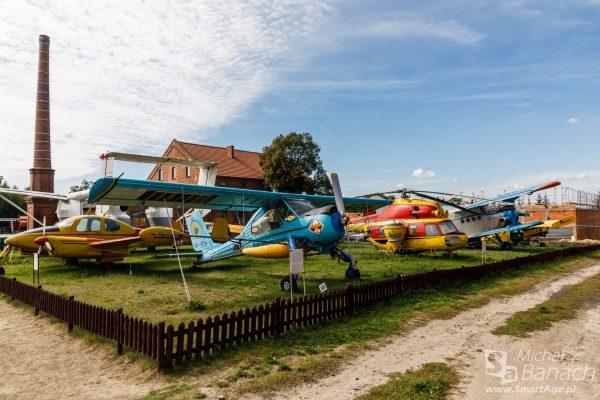 Samoloty rolnicze w Muzeum Narodowym Rolnictwa i Przemysłu Rolno-Spożywczego w Szreniawie (fot. Michał Banach)