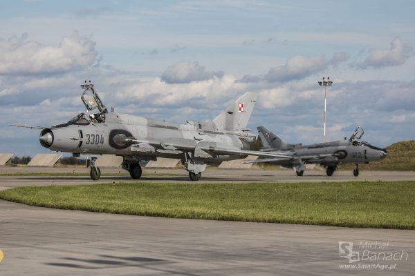 Su-22M4 (fot. Michał Banach)