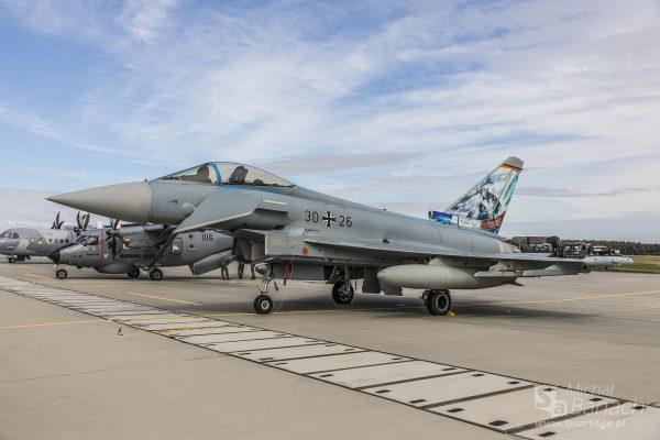 Eurofighter Typhoon (fot. Michał Banach)