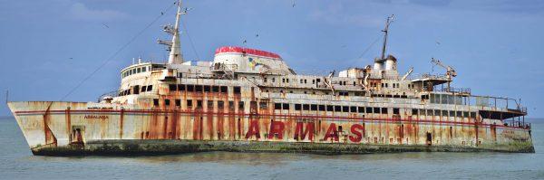 Wrak MV Assalama (fot. orientalizing/flickr.com)