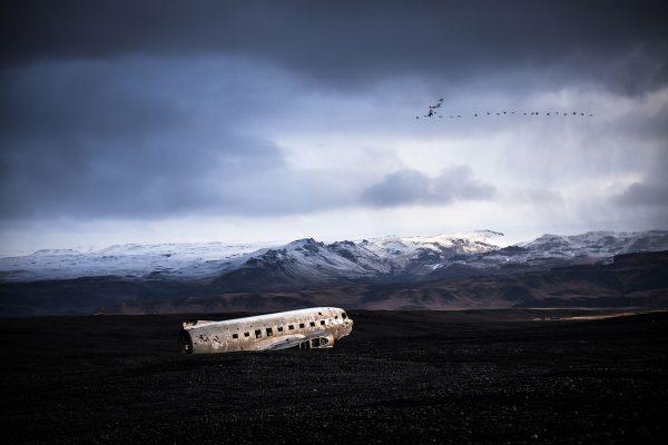 Wrak DC-3 na Islandii - Sólheimasandur (fot. Daniel Sjöström)