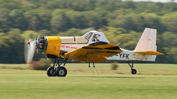 PZL M21 Dromader Mini (fot. Julian Herzog)