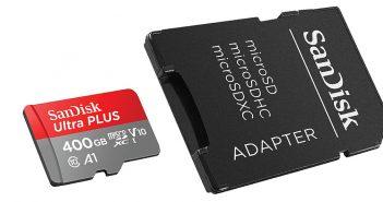 SanDisk zaprezentował największą kartę microSD - 400 GB!