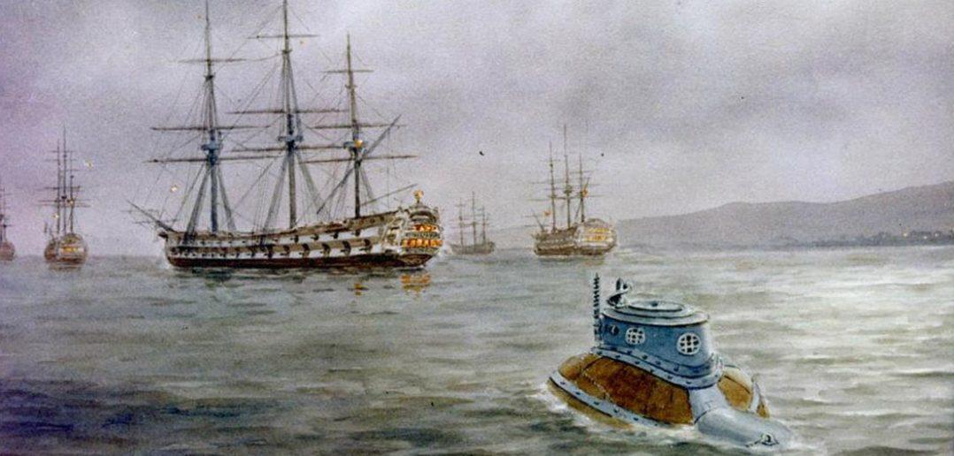 Turtle - pierwszy okręt podwodny