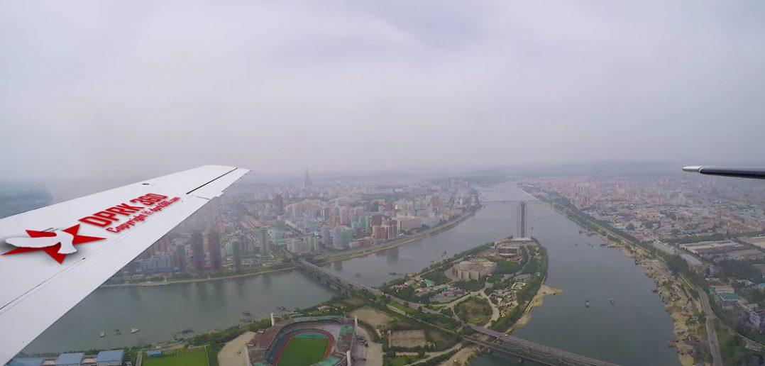 Pjongjang z lotu ptaka - film