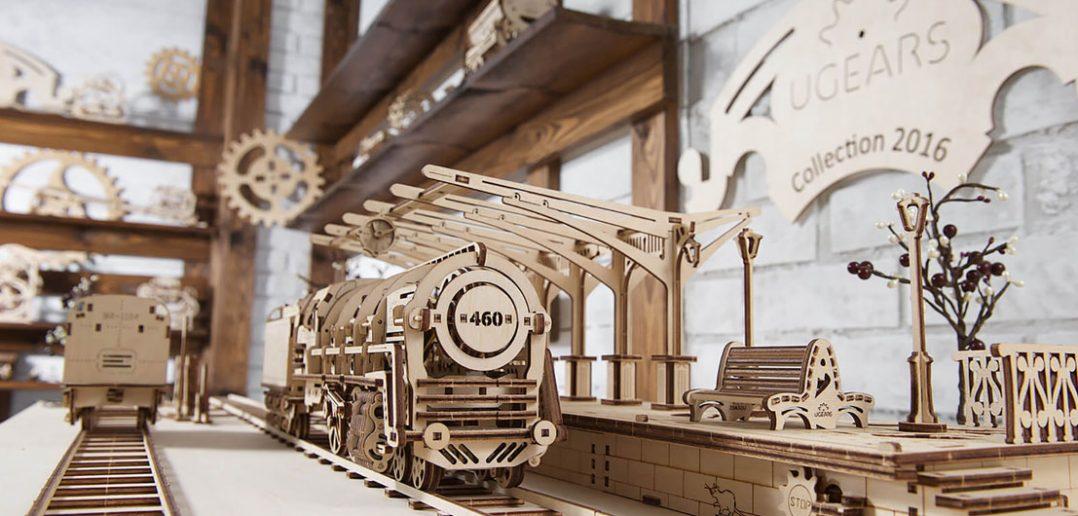 UGears - niesamowite mechaniczne modele z drewna