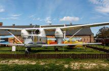 Samoloty rolnicze w muzeum w Szreniawie