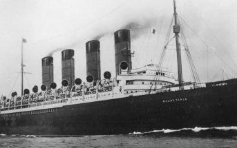 RMS Mauretania - pierwszy liniowiec z turbiną parową
