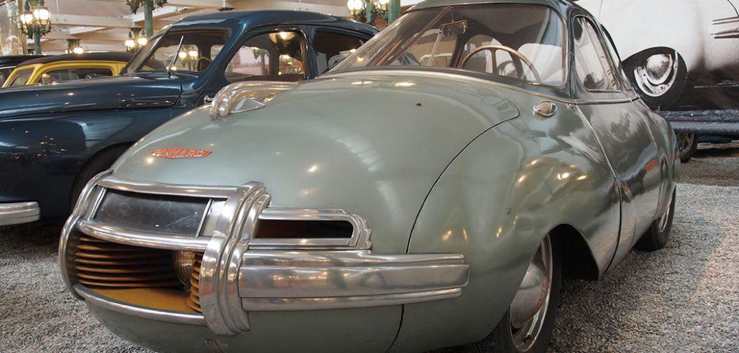 Prototypowy Panhard Dynavia z 1948 roku