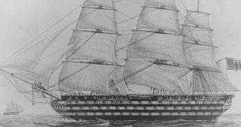 USS Pennsylvania - największy amerykański żaglowy okręt liniowy