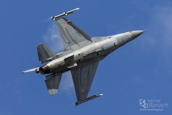 F-16 Tiger Demo Team Poland (fot. Michał Banach)