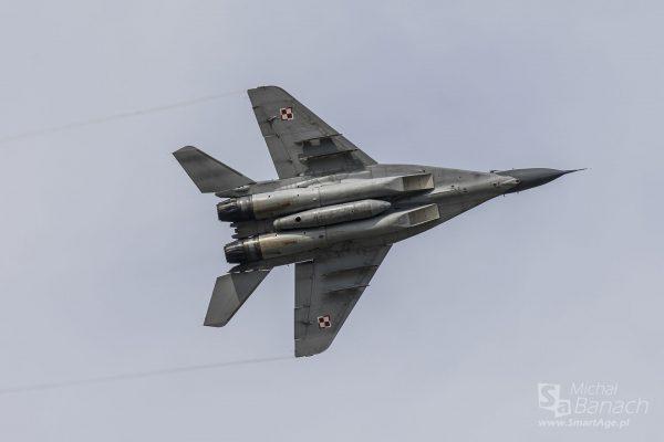 MiG-29 (fot. Michał Banach)