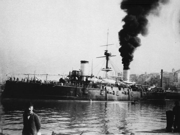 Hiszpański krążownik pancerny Cristóbal Colón