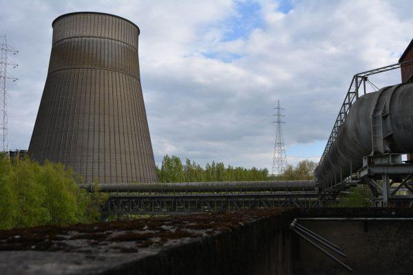 Chłodnia kominowa w Power Plant IM