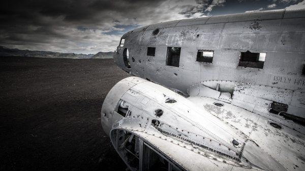 Wrak DC-3 na Islandii - Sólheimasandur (fot. clement127)
