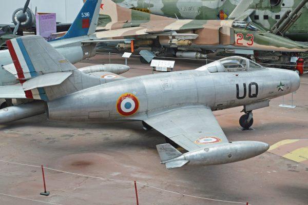 Dassault M.D.450 Ouragan (fot.  Alan Wilson)