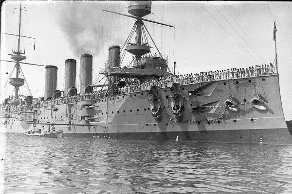 HMS Powerful w 1905 roku