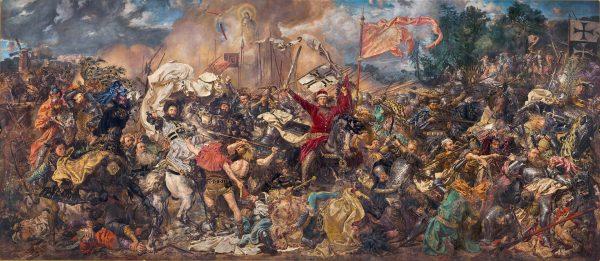 Bitwa pod Grunwaldem - obraz Jana Matejki