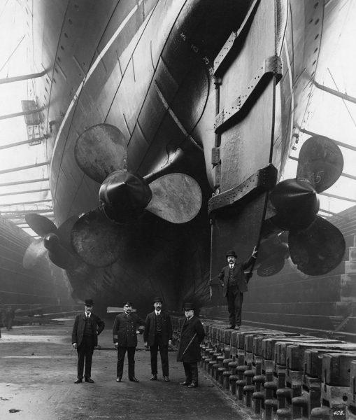 Śruby napędowe RMS Mauretania