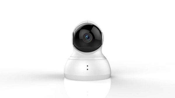 Ustawienie kamery w dowolnym miejscu pomieszczenia i zmiana pola widzenia, jest możliwa dzięki skanowaniu przestrzeni nawet o kącie 360 stopni. Mamy w ten sposób dostęp do pełnej informacji na temat tego co dzieje się w pokoju, jedynie spoglądając w aplikację na smartfonie.
