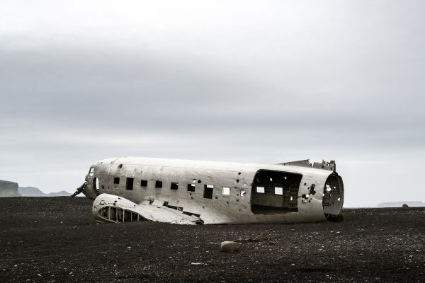 Wrak DC-3 na Islandii - Sólheimasandur (fot. Chris Johnston)