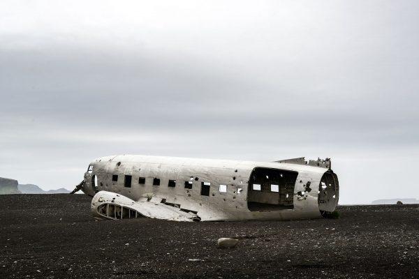Wrak DC-3 na Islandii - Sólheimasandur (fot. Chris Johnston)