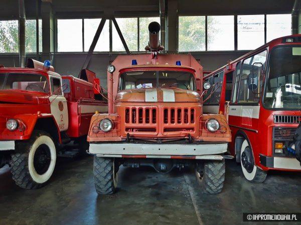 Wyposażenie oddziałów strażackich w Czarnobylu (fot. Krystian Machnik/napromieniowani.pl)