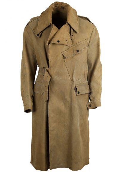 Brytyjski, przeciwdeszczowy płaszcz wojskowy z 1948 roku